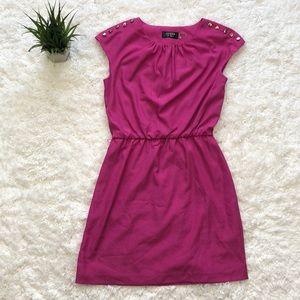 Guess hot pink slip on dress